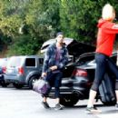 Sophie Turner – Having fun with the paparazzi at the gym in LA
