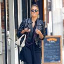 Jessica Alba out in Soho