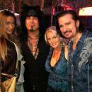 Bruce & Lisa with Courtney & Nikki