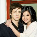 Selena Gomez and Logan Lerman