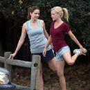 Jenna Fischer and Angela Kinsey Jogging - 454 x 537