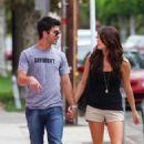 Joe And Ashley Holding Hands Shopping