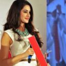 Nargis Fakhri at the Kingfisher pre-derby event 2012