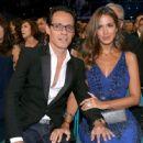 Marc Anthony and Shannon De Lima- Latin Grammy Awards 2014