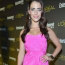Jessica Lowndes: attending the 2012 Entertainment Weekly Pre-Emmy Party at Fig & Olive Melrose Place in West Hollywood