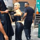 Kylie Jenner in Leather Outfit – Out in New York City