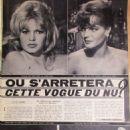 Brigitte Bardot - Cine Tele Revue Magazine Pictorial [France] (5 December 1963) - 454 x 616