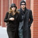Jessica Biel & Justin Timberlake Leaving His Apartment In New York City, 18 February 2010