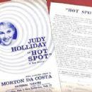 Hot Spot (musical) Original 1963 Broadway Cast Starring Judy Holliday - 400 x 293