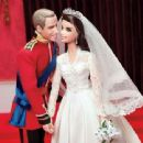 Kate & William wedding dolls