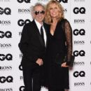 Keith Richards and Patti Hansen attend the GQ Men Of The Year Awards at The Royal Opera House on September 8, 2015 in London, England. - 397 x 600