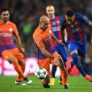 FC Barcelona v Manchester City FC - UEFA Champions League - 454 x 325