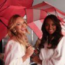 Candice Swanepoel Angels Umbrellas Shoot Behind The Scenes