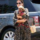 Sandra Bullock in Long Dress – Out in LA - 454 x 652