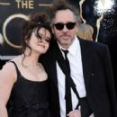 Helena Bonham Carter and Tim Burton At The 85th Annual Academy Awards (2013) - 424 x 594