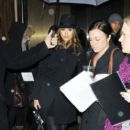 Jessica Alba Leaves Her Hotel in Black