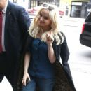 Dove Cameron out in NYC