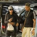 Blac Chyna and Mechie Running Errands in Los Angeles, California - September 12, 2017 - 454 x 455