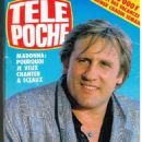 Gérard Depardieu - Tele Poche Magazine Cover [France] (17 August 1987)