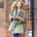 Juno Temple is seen leaving The Bowery Hotel in New York City, New York on March 31, 2016 - 388 x 600