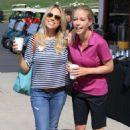 Jessica Hall and Kendra Wilkinson The Hank Baskett Classic Golf Tournament in Calabasas - 454 x 681