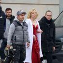 Cate Blanchett – Shoot a new campaign for Giorgio Armani in Barcelona - 454 x 586