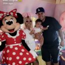 Blac Chyna, Rob Kardashian, and Dream Celebrate Father's Day in Disneyland in Anaheim, California - June 18, 2017
