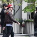 The boys from Big Time Rush were spotted leaving their hotel in Vancouver, October 17, to grab some coffee