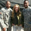 Hayden Panettiere At Fort Campbell