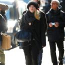 Dakota Fanning kept to her workout schedule and paid a visit to her local gym, March 6. She was seen bundled up heading to her gym in New York City