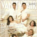 Debra Messing, Eric McCormack, Megan Mullally, Sean Hayes - Vanity Fair Magazine Cover [United States] (1 December 2003)