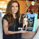 Audrina with her new 2013 Calendar