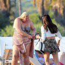 Gemma Collins in bikini enjoying the sun in Saint Tropez - 454 x 592