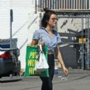 Lucy Hale – Heading out of Whole Foods in Los Angeles