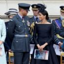Prince Harry Windsor and Meghan Markle Attend Events To Mark The Centenary Of The RAF - 391 x 600