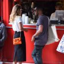 Doutzen Kroes and husband Sunnery James – out in SoHo - 454 x 602
