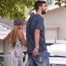 Shakira Mebarak and Gerard Pique- Seen on Holiday in Barranquilla, Colombia 12/27/ 2016 - 454 x 579