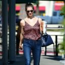 Ashley Greene – In jeans while out in Los Angeles