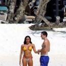 Lourdes Leon in Bikini on the beach of the Maldives - 454 x 651