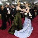 Greta Gerwig and Saoirse Ronan At The 92nd Annual Academy Awards - Arrivals - 454 x 340
