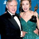Anthony Hopkins and Emma Thompson At The 65th Annual Academy Awards (1993) - 219 x 330