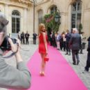 Zahia Dehar At Schiaparelli Fashion Show 2014