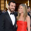 Justin Theroux and Jennifer Aniston At The 85th Annual Academy Awards (2013)