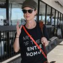 Juliette Lewis – Seen at Los Angeles LAX - 454 x 681