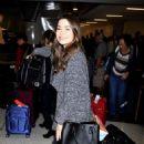 Miranda Cosgrove Lax Airport In La
