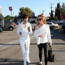 Lindsay Lohan And Samantha Ronson Out And About In L.A., 2008-08-21