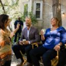 JUST WRIGHT director Sanaa Hamri, Common and Queen Latifah (Photo by David Lee)