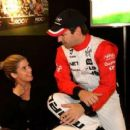 Timo Glock and Isabell Reis - 454 x 255
