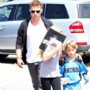 Ryan Phillippe: Flag Football Daddy Duty