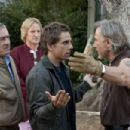 Robert De Niro as Jack Byrnes, Owen Wilson as Kevin Rawley, Ben Stiller as Greg Focker and Harvey Keitel in Universal Pictures' Little Fockers.